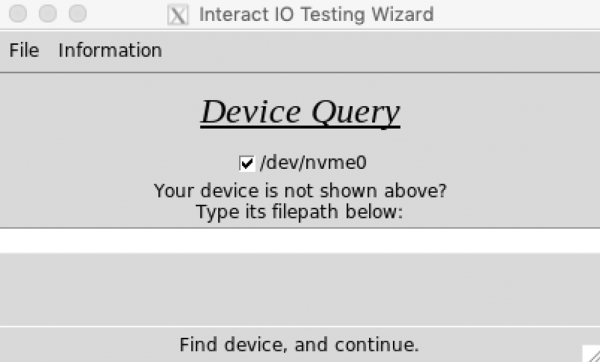 device query