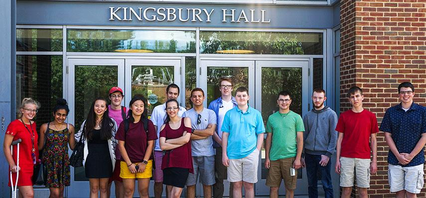 Interns at Kingsbury Hall