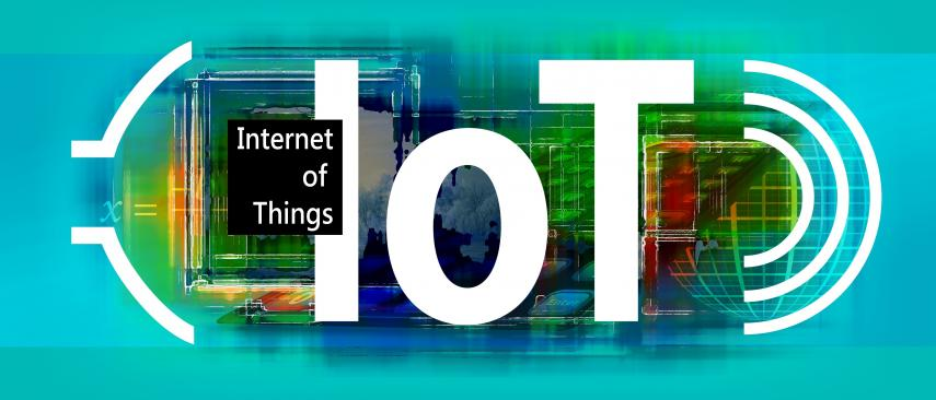 Graphic illustrating the concept of the Internet of Things