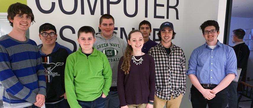 Group photo of Python workshop participants