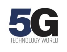 5G technology world logo