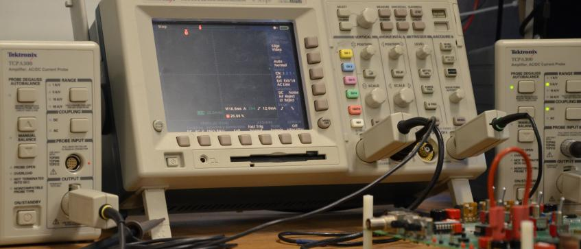 Oscilloscope and other test equipment