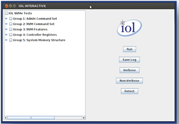 INTERACT software PC edition screenshot